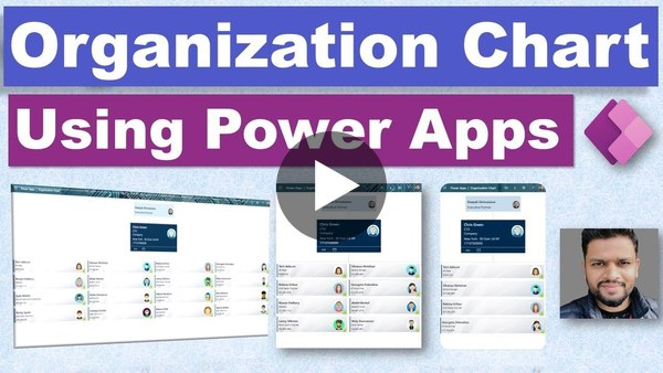 Power Apps Org Chart - How to Build Tutorial