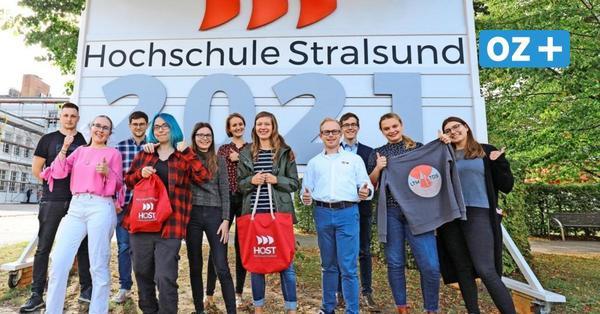 Die Neuen sind da: Semesterstart an der Hochschule Stralsund