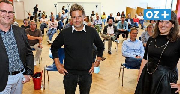Grünen-Chef Robert Habeck im OZ-Talk: Werften in MV müssen sich ökologisch umstellen