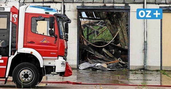 Nach Großbrand im Rostocker Seehafen: Unternehmen bangt um seine Existenz
