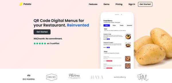 QR Code Digital Menus for your Restaurant.
