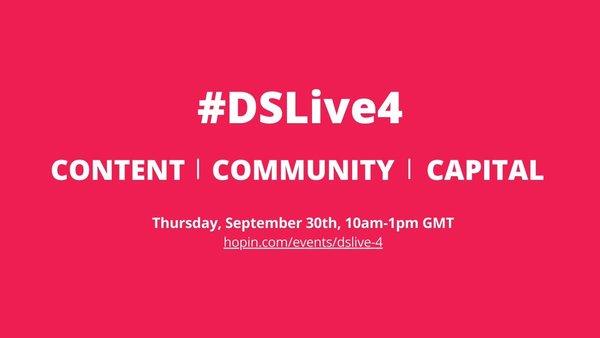 #DSLive4