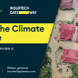 Tackling the climate challenge: Where can insurtech make a meaningful impact | September 30th