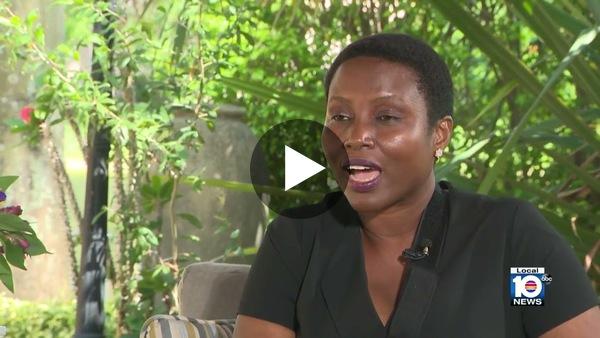Premye dame  Martine Moïse interview avek Local 10 Miami sou asasina President Jovnel