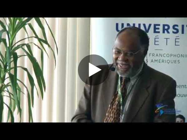 Samuel Pierre -  La Cité du savoir en Haïti, un milieu innovant