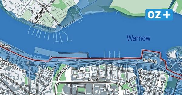 Bis zu 350 Millionen Euro Schaden: So heftig könnten Sturmfluten künftig Rostock treffen