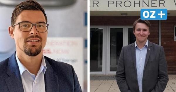 Zwei Kandidaten für das Bürgermeisteramt in der Gemeinde Wendisch Baggendorf