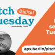 APX Pitch - Every second Tuesday at 5pm