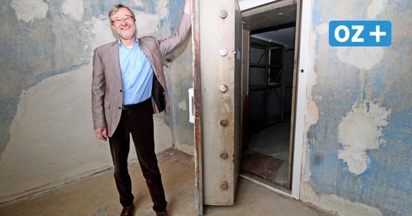 Auf Spurensuche: Darum hat ein Wismarer Haus einen XXL-Tresor, Zellen und Tunnel