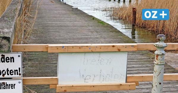 Hafen in Fuhlendorf: Schwimmhäuser und neuer Steg geplant