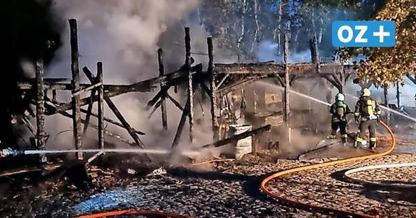 Feuer bei Karls in Zirkow auf Rügen: Jetzt ist die Ursache für den Großbrand bekannt