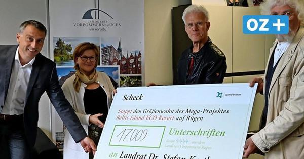 Bug auf Rügen: 17000 Unterschriften gegen Tourismus-Großprojekt gesammelt