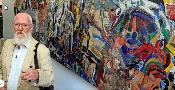 Einer der ganz großen Maler in der DDR: Ronald Paris mit 88 Jahren gestorben