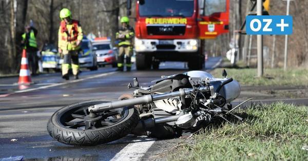 Unfall bei Kramerhof: 24-jährige Motorradfahrerin schwer verletzt