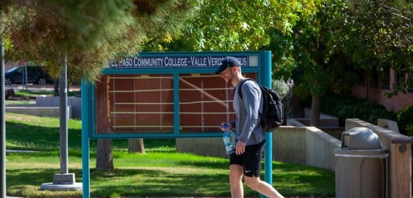El Paso Community College's Valle Verde campus. Photo: Corrie Boudreaux/El Paso Matters