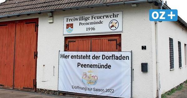 Peenemünder Feuerwehrhaus wird Dorfladen: Das fehlt noch bis zur Eröffnung