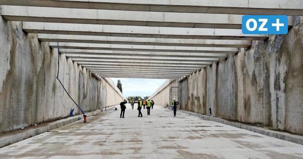 Insel Usedom: In Swinemünde ist Tunnel-Bohrer vor dem Durchbruch
