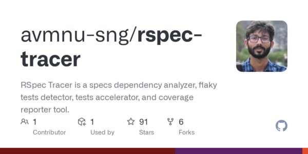avmnu-sng/rspec-tracer: analizador y reportador todo en uno para RSpec