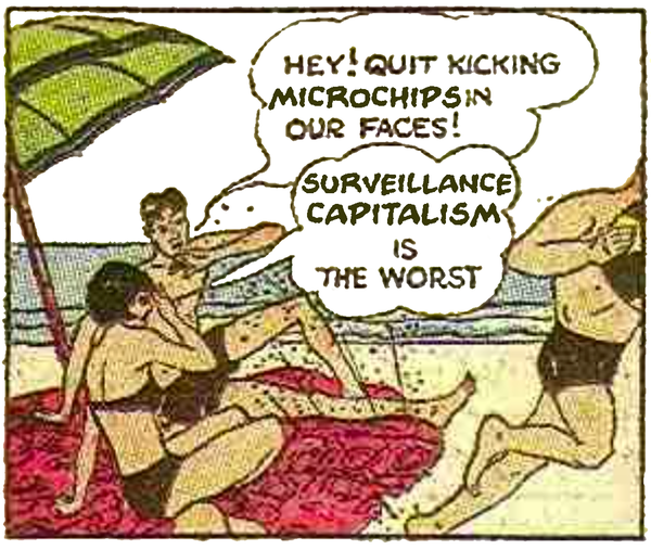 Hey! Stop kicking microchips in our faces!