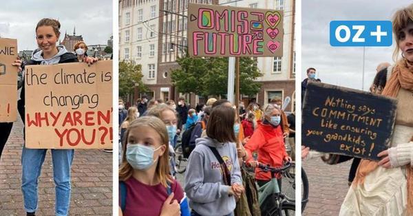Fridays for Future-Demos in MV im OZ-Liveblog: Tausende auf den Straßen