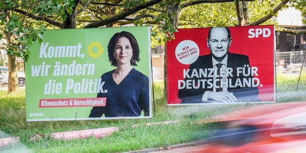 Liveblog: Verfolgen Sie hier das Duell Baerbock gegen Scholz - auch am Wahlabend