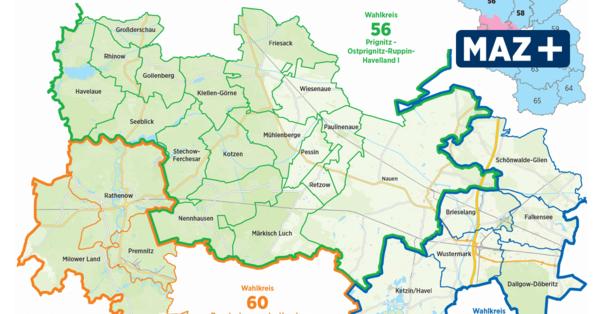 Diese Kandidaten wollen für das Havelland in den Bundestag