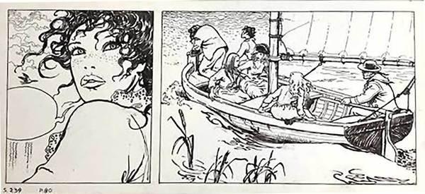 Milo Manara - El Gaucho Original Comic Art