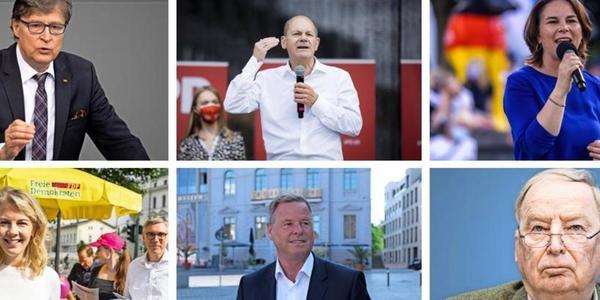 Bundestagswahl 2021: Was die Spitzenkandidaten in Brandenburg direkt nach der Wahl vorhaben