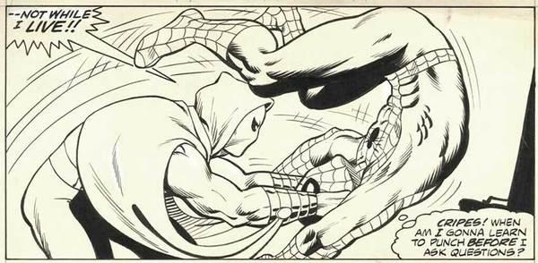 Mike Zeck - Spider-Man Original Comic Art