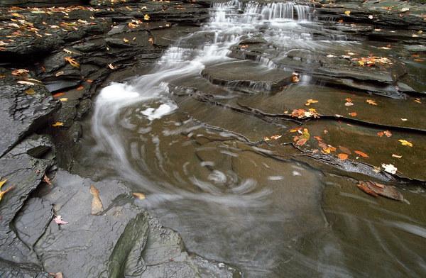 It felt like water swirling.
