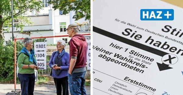 Bundestagswahl 2021 in Hannover: Der Wahl-Ticker zum Nachlesen