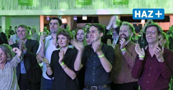 Wahlparty der Grünen in Hannover: Verhaltener Jubel trotz Rekordergebnis bei Bundestagswahl