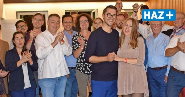 Marlo Kratzke (SPD) wird Bürgermeister in Ronnenberg