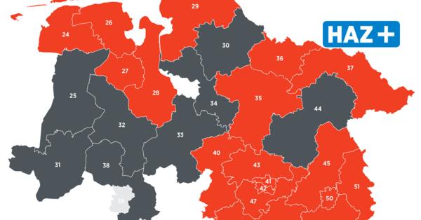 Direktmandate SPD holt 21 von 30 Wahlkreisen in Niedersachsen