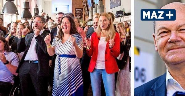 Bundestagswahl 2021: Olaf Scholz gewinnt Potsdamer Wahlkreis 61