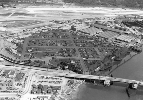 Boeing made an entire fake neighborhood to hide its bombers from potential WWII airstrikes