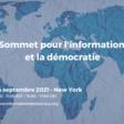 Une avancée majeure au Sommet de New-York : lancement de l'Observatoire international sur l'information et la démocratie