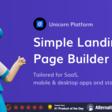 Unicorn Platform 🦄 Landing page builder for startups