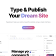 The new way to make a website