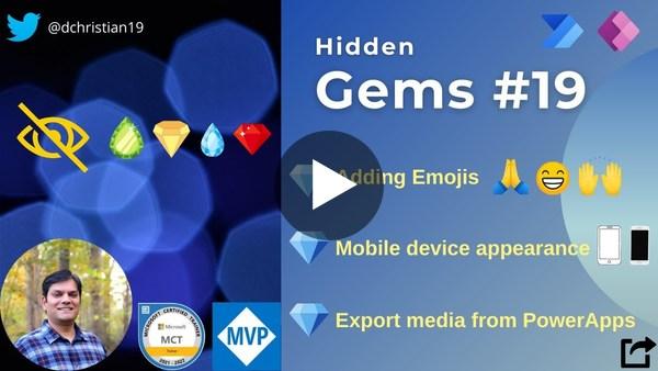 Power Apps: Hidden Gems Series #19
