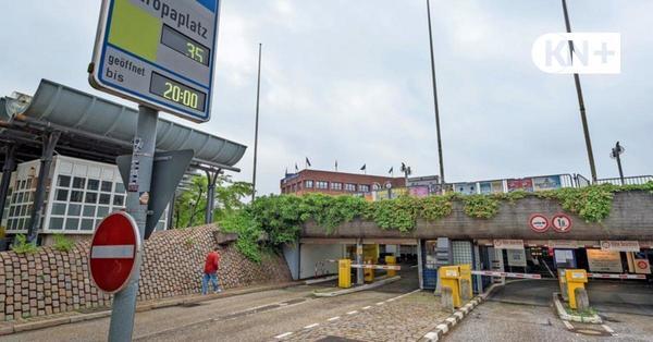 Tiefgarage Europaplatz in Kiel: Instandsetzung würde laut Gutachten mehr als 13 Millionen Euro kosten