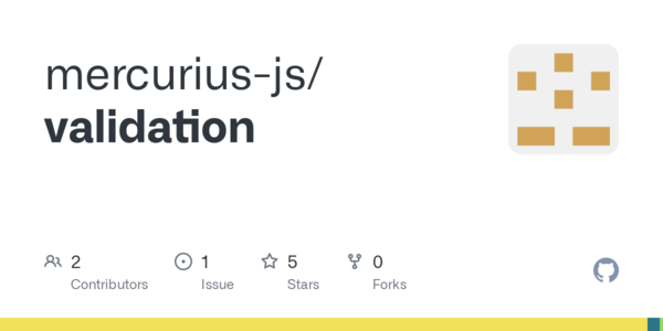 GitHub - mercurius-js/validation