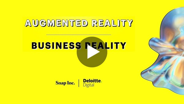 """Snap and Deloitte Digital presented this year's """"Business Reality"""" Report!"""