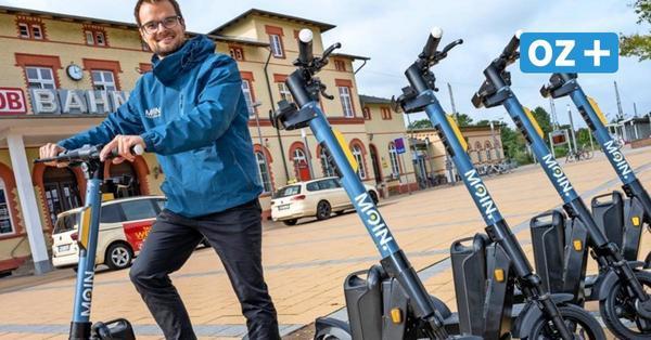 100 neue E-Roller in Greifswald: Wer sie falsch abstellt, muss kräftig zahlen