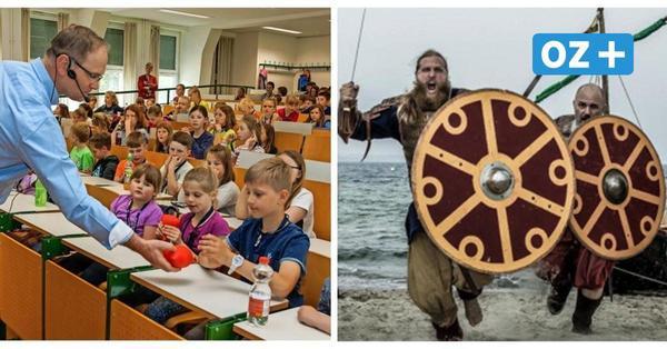 Kinder-Uni in Wismar: Diese Vorlesungen warten auf die kleinen Studenten