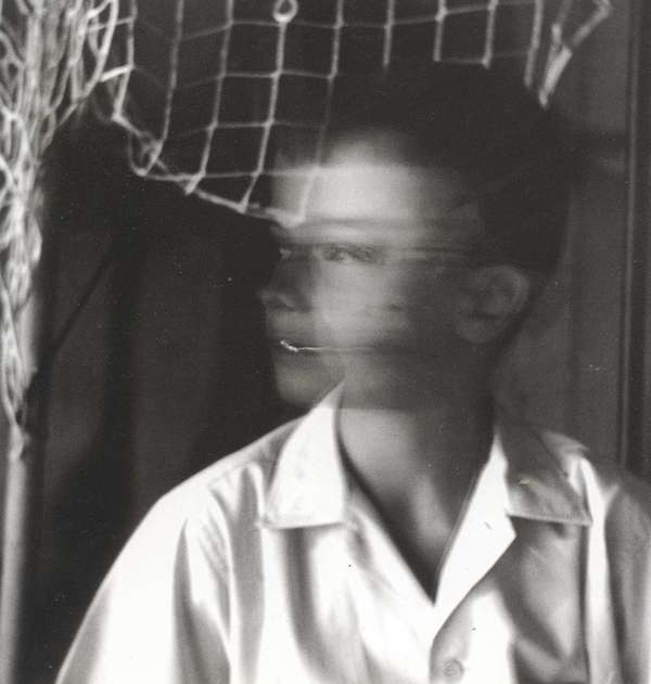 Photo by Ralph Eugene Meatyard, untitled (To El Mochuelo E #6), 1964.