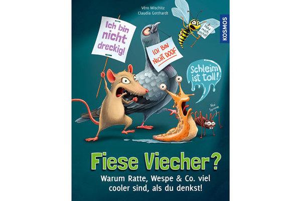 """Cover des Buches """"Fiese Viecher"""", erschienen im Verlag Kosmos"""