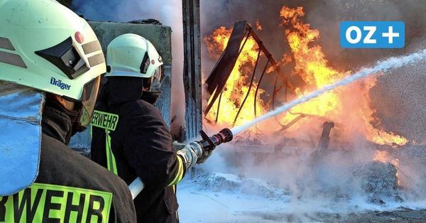 """Stralsund: Imbiss""""Schawarma-Haus"""" im Frankenwall abgebrannt"""