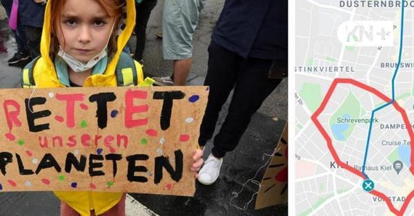 So lief der Klimastreik in Kiel, 24.9.21: Alle Informationen zum Nachlesen