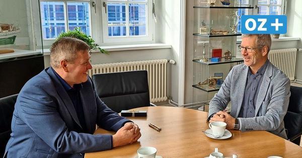 Greifswald: Deshalb war der Grimmener Bürgermeister im Rathaus der Hansestadt
